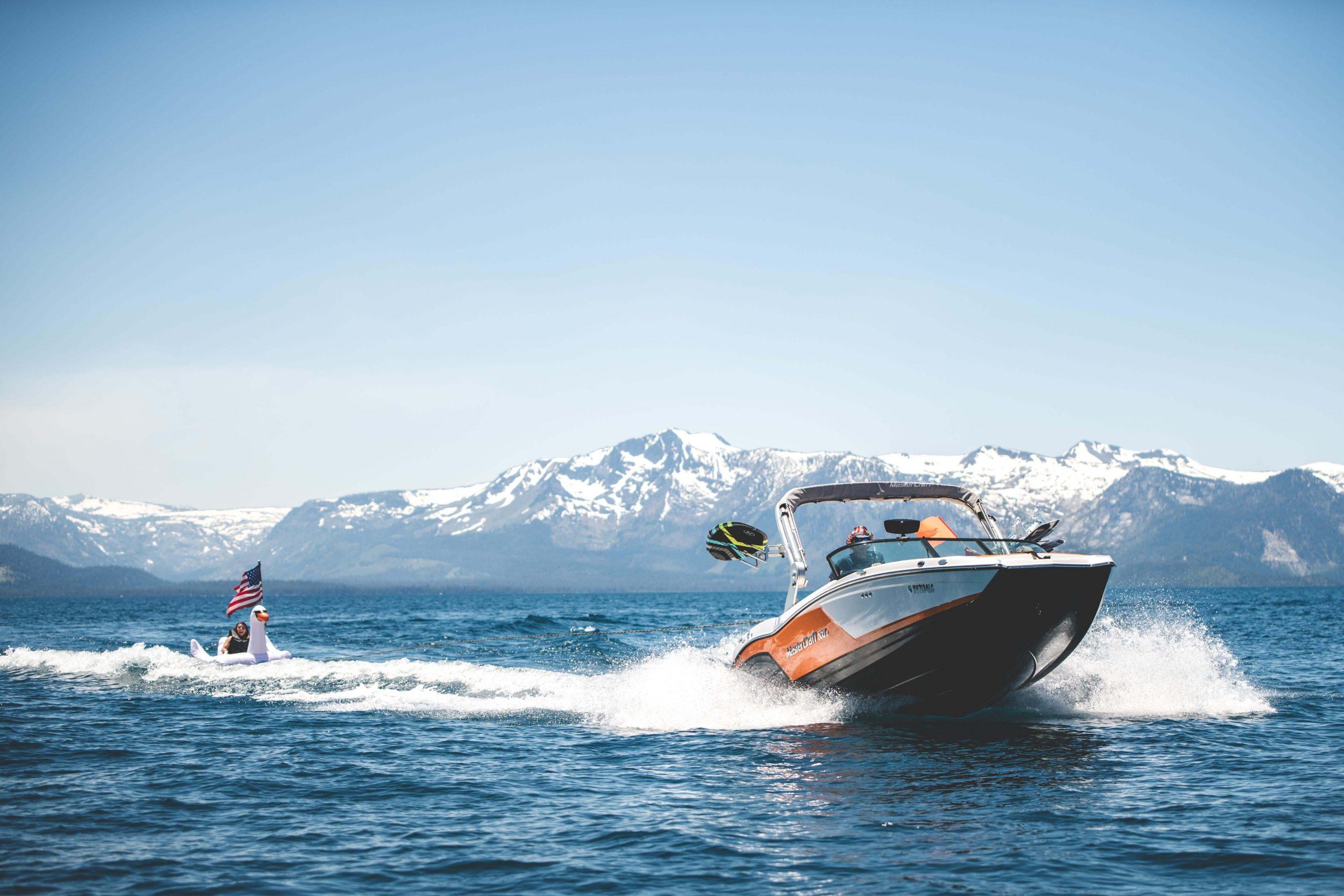 tahoe wakesurfing