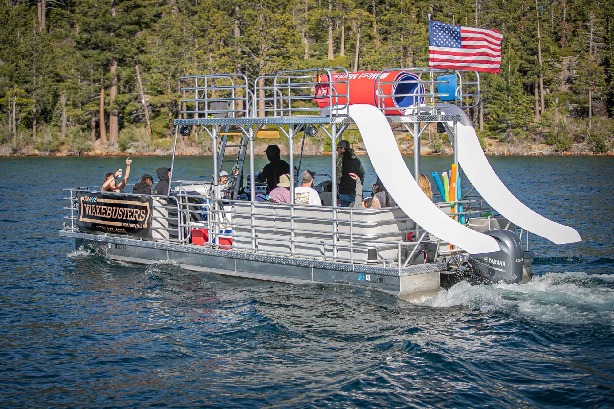 lake tahoe party boats