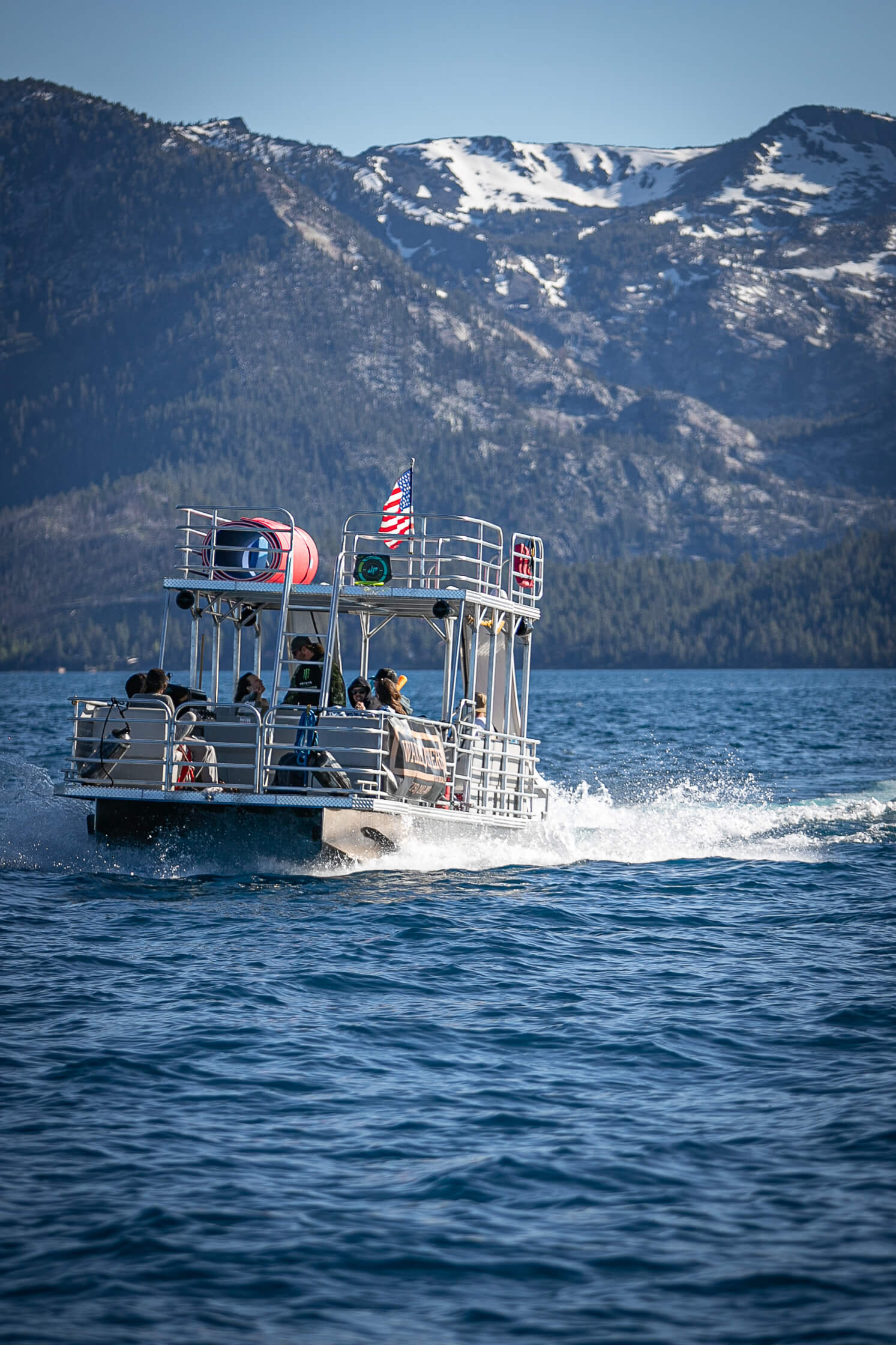 tahoe pontoon boats