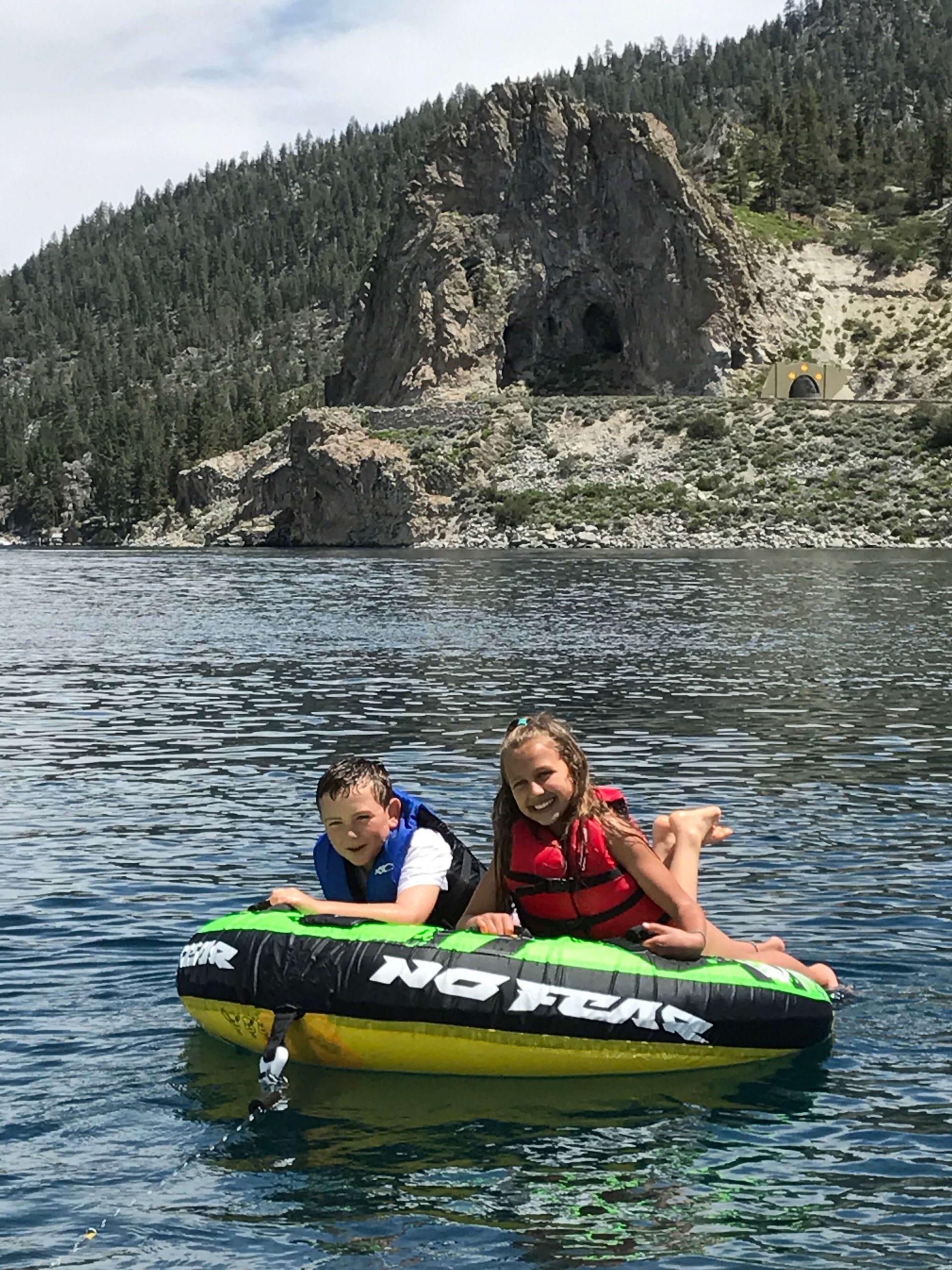 Lake Tahoe Tubing