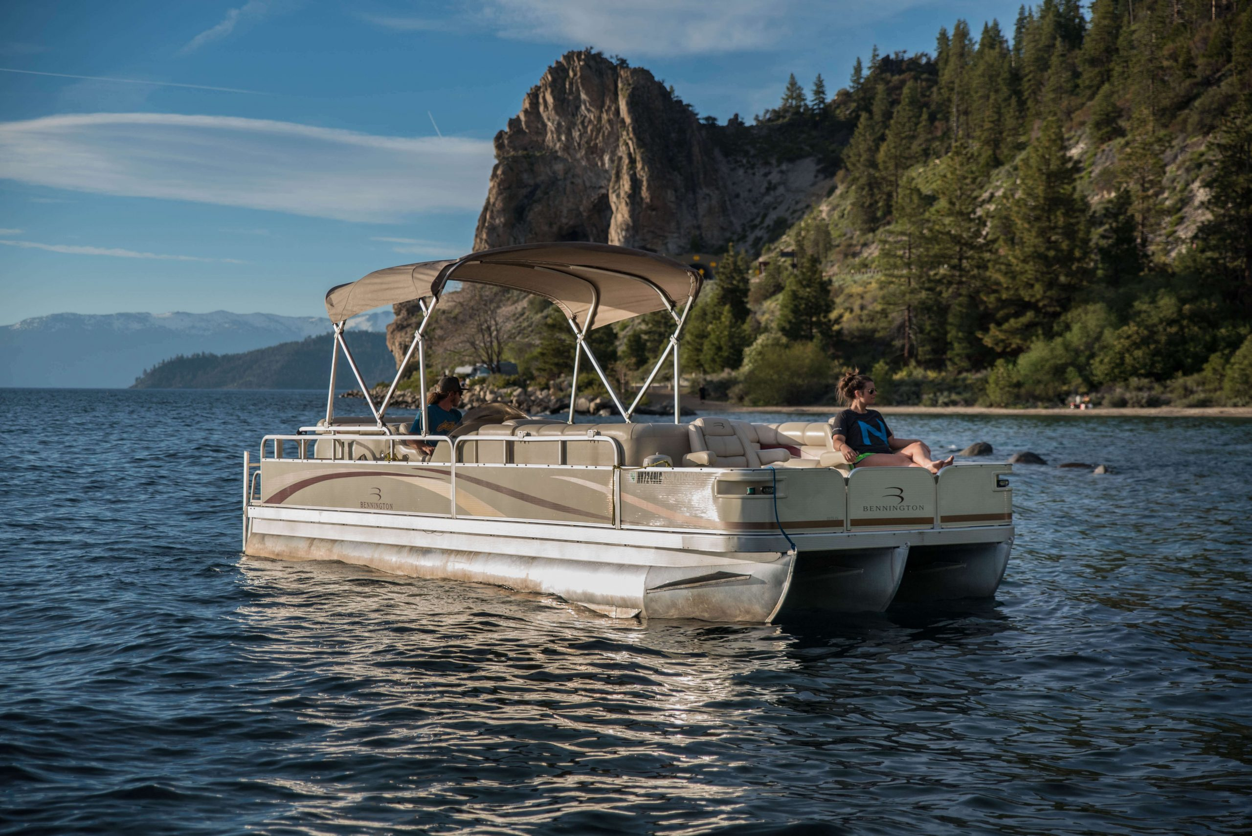 lake tahoe pontoon boats