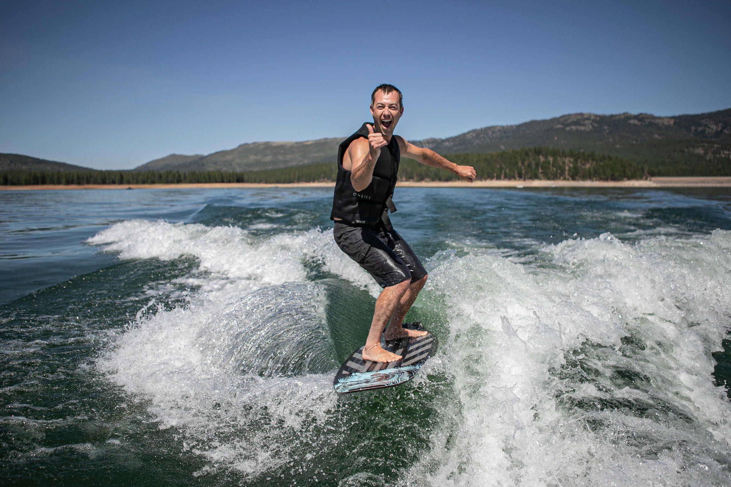 lake tahoe wakesurfing rentals